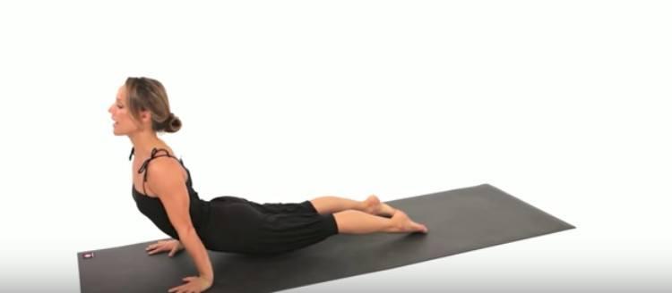 back stretch upward facing dog