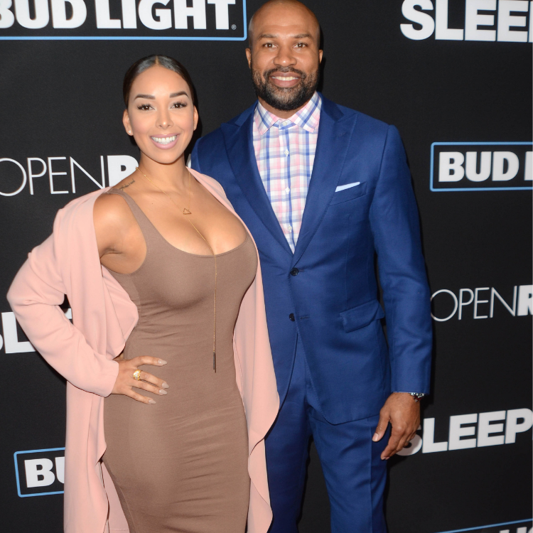 Gloria Govan and fiance Derek Fisher
