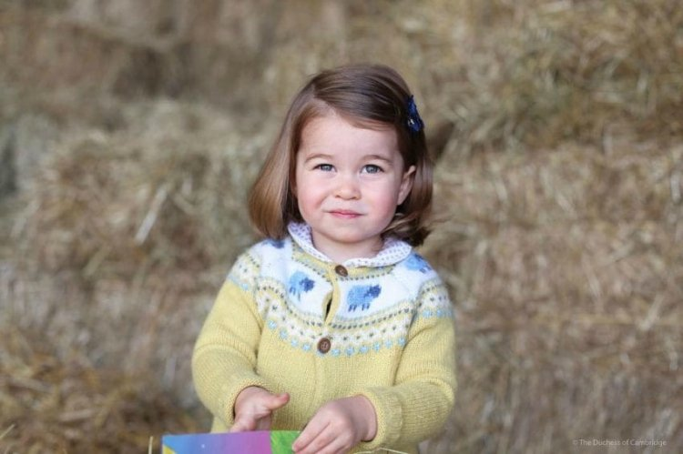 Princess Charlotte is 4th in line for the British throne