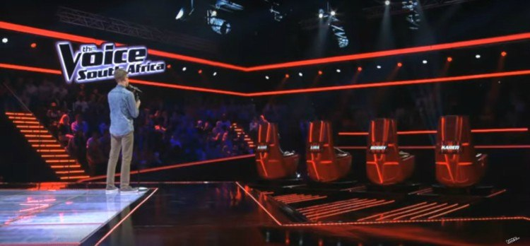Image of contestant on The Voice.