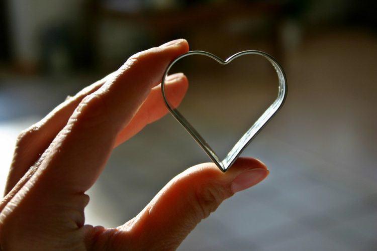 Heart cookie cutter.
