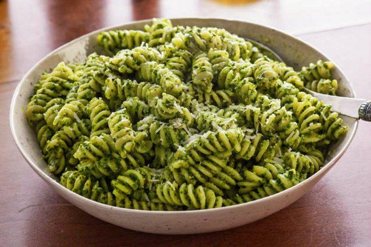 SpinachPestoFusilli
