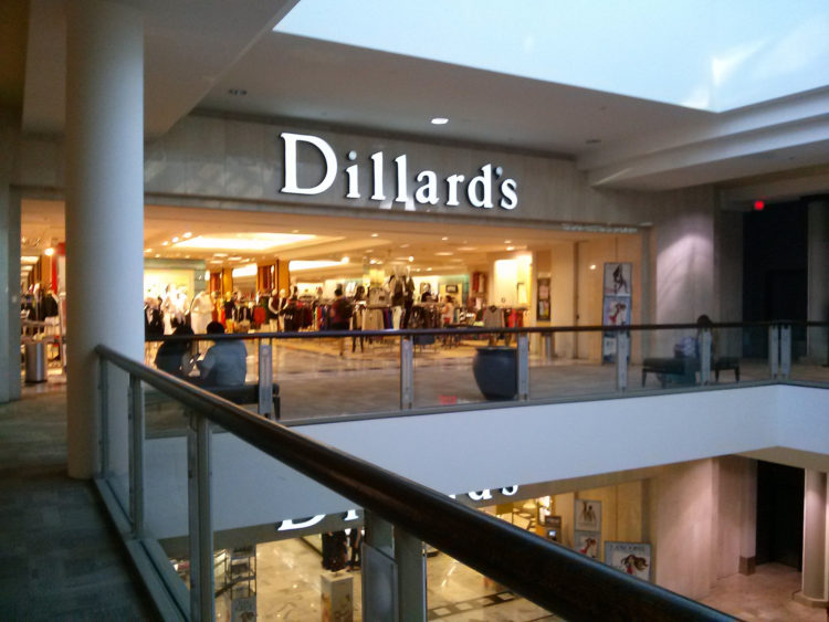 Image of Dillard's store front