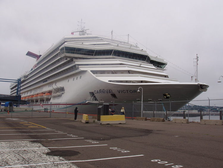 Image of Carnival cruise ship