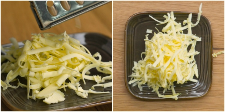 Soften butter in a hurry with a cheese grater
