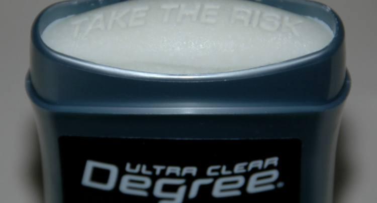 deodorant closeup
