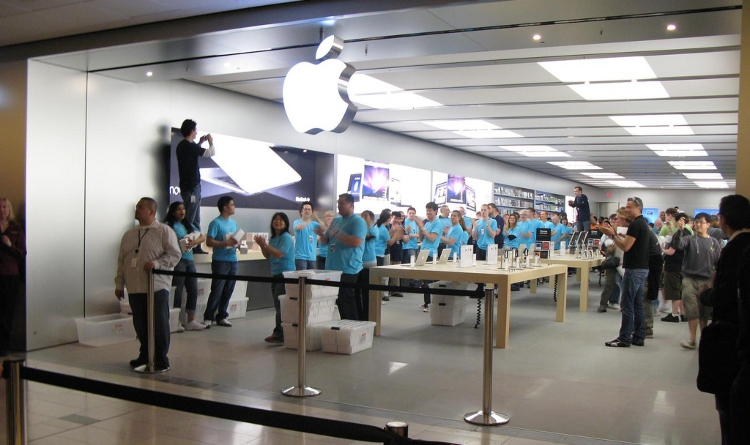 Image of Apple store
