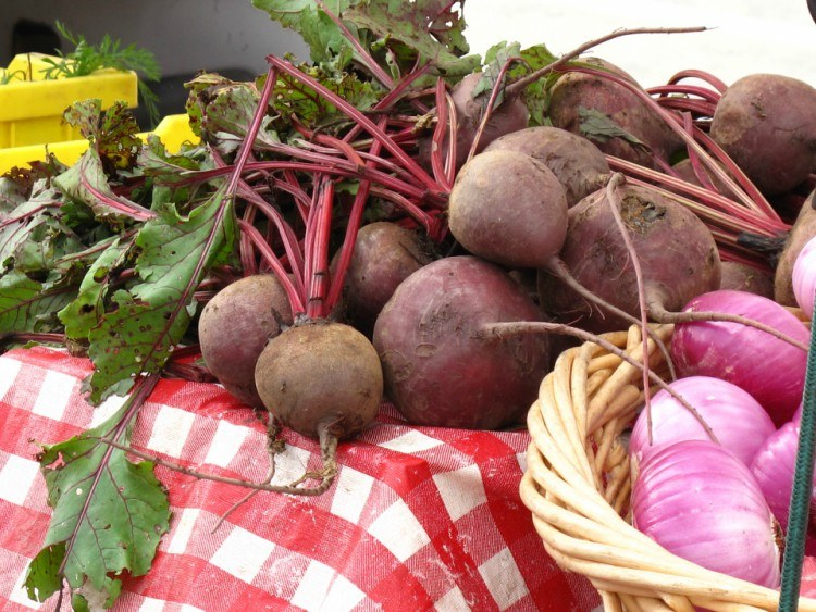 Image of raw beets