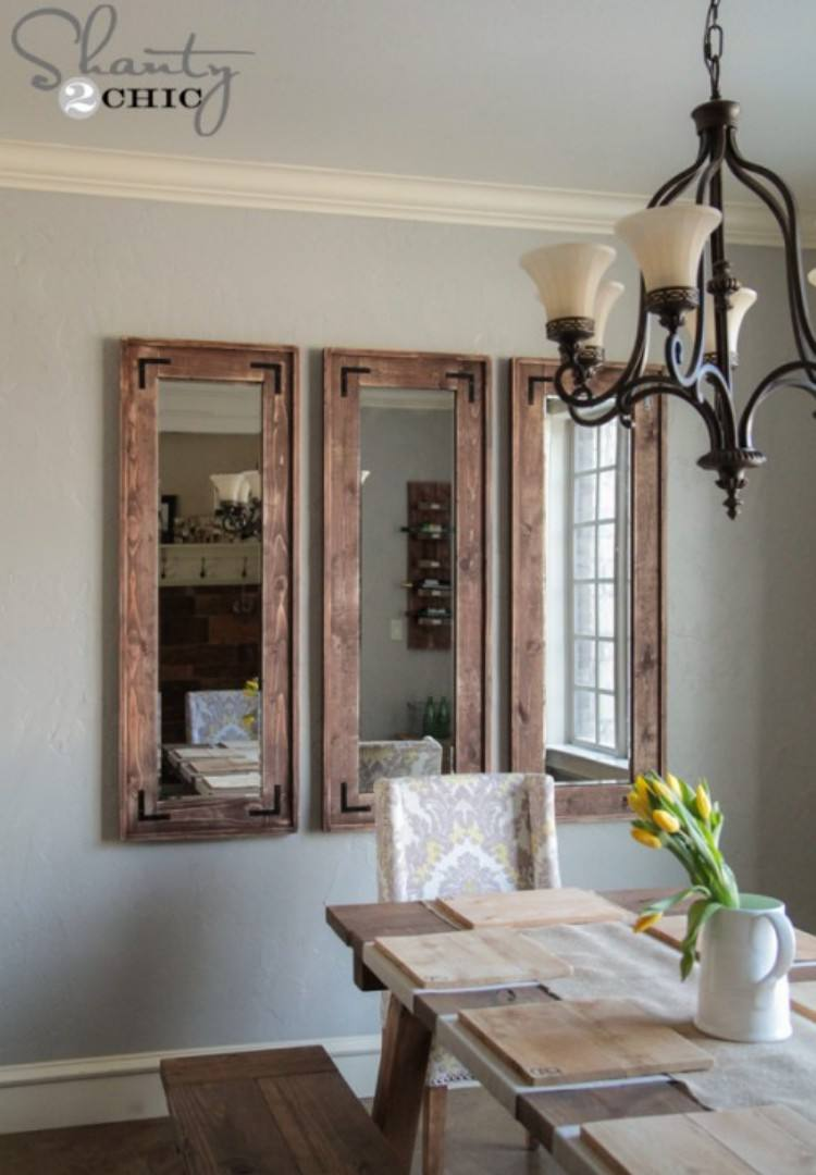 Awe Inspiring Upgrade Cheap Mirrors With These 13 Projects Download Free Architecture Designs Intelgarnamadebymaigaardcom