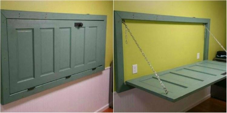 Door Table Collage