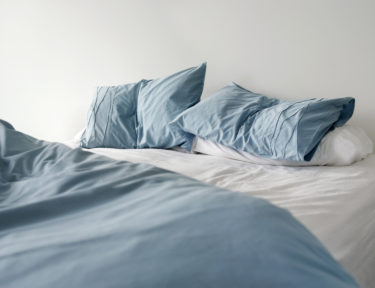 Image of bed sheets.