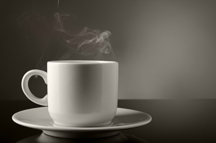 Image of steamy mug.