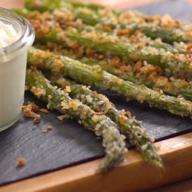 Crispy Parmesan Roasted Asparagus