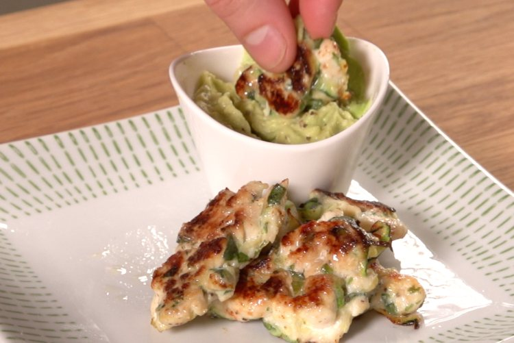 Chicken Zucchni Poppers