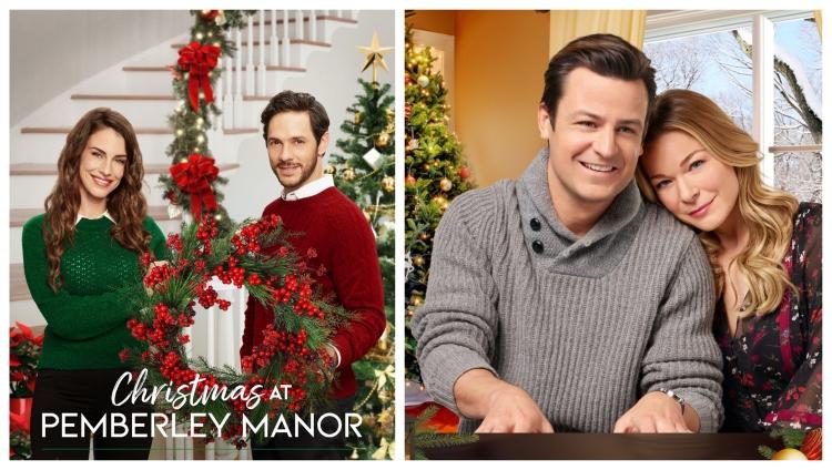 Christmas At Pemberley Manor.Hallmark Announces Their 2018 Christmas Movie Lineup
