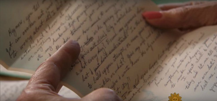 Image of love letter.