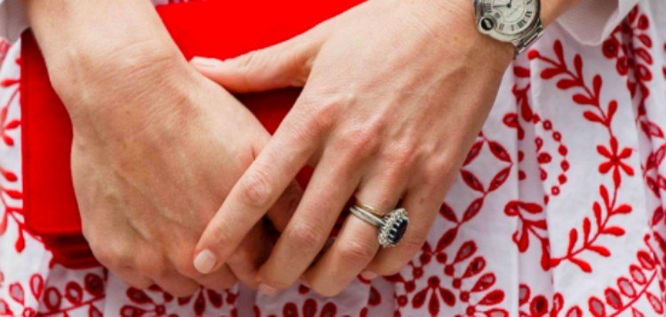 Kate's hands