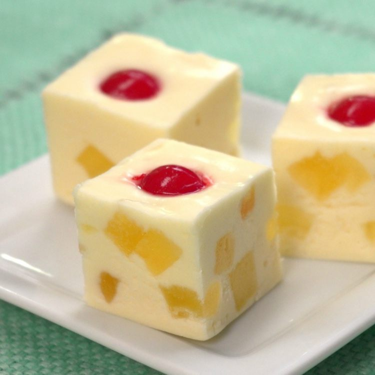 three-pineapple-upside-down-cake-fudge-pieces