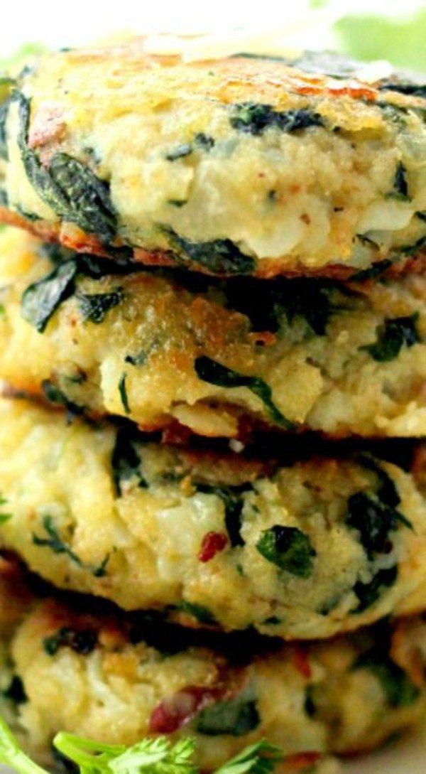 Spinach Potato Patties 2