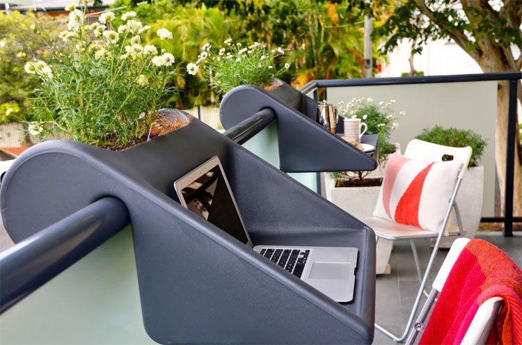 invention balcony desk