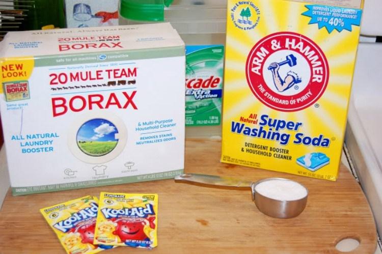 kool aid detergent