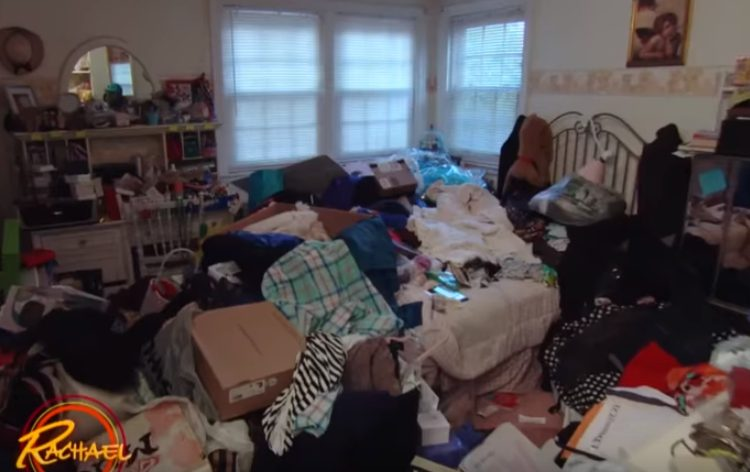 Messy Teen Bedroom