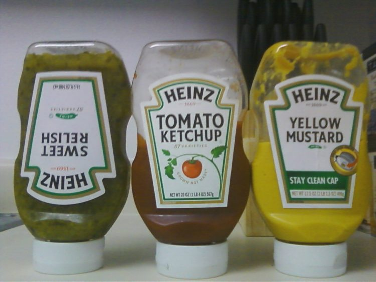 condiment labels