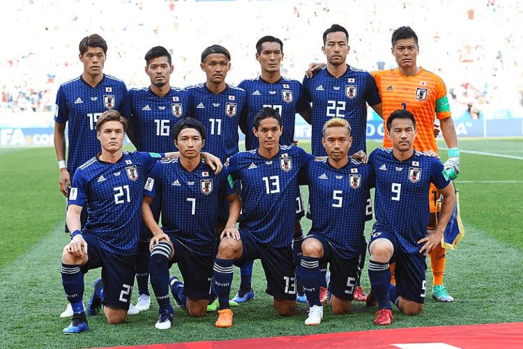 Japan's World Cup team
