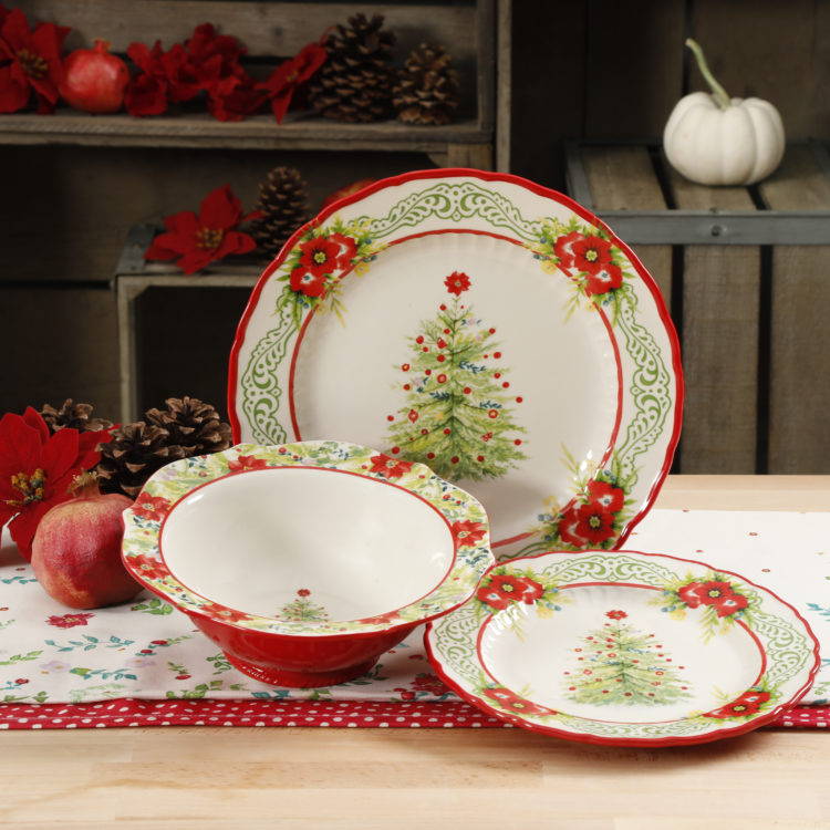 Image of Pioneer Woman's Christmas plates
