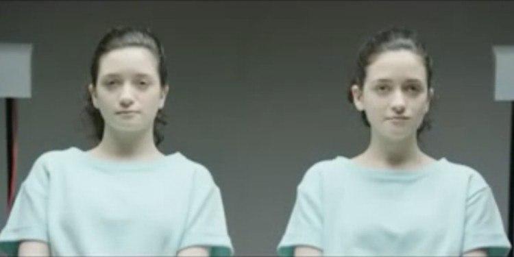 Female set of twins.
