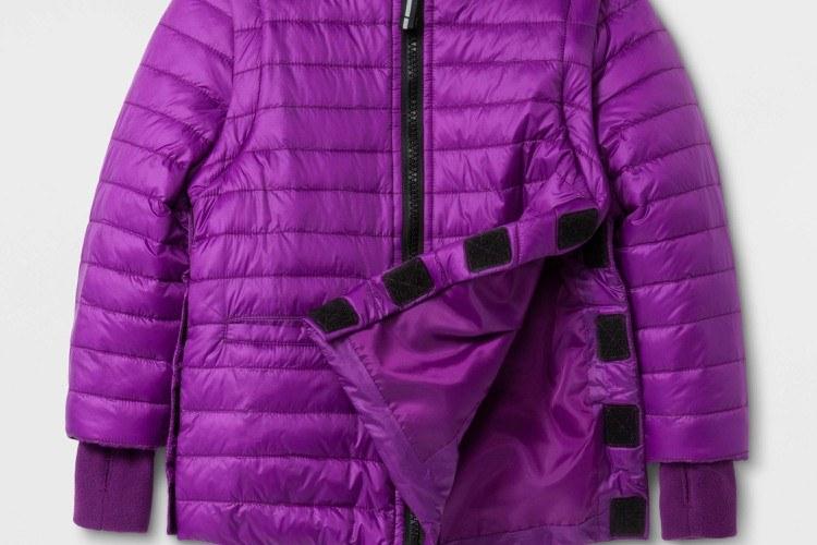 Image of Target's adaptive jacket.