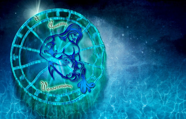 Image of Aquarius sign.