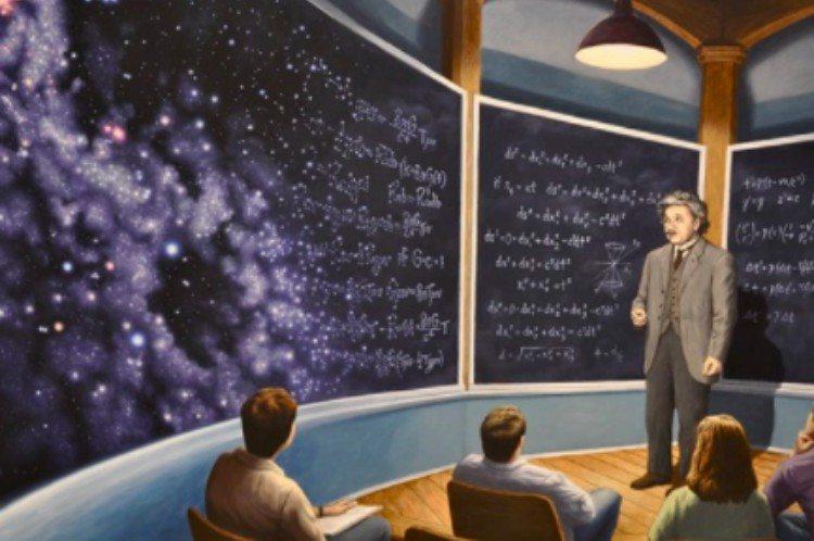chalkboard universe