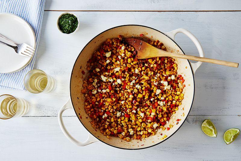 Sriracha Lime Corn Salad