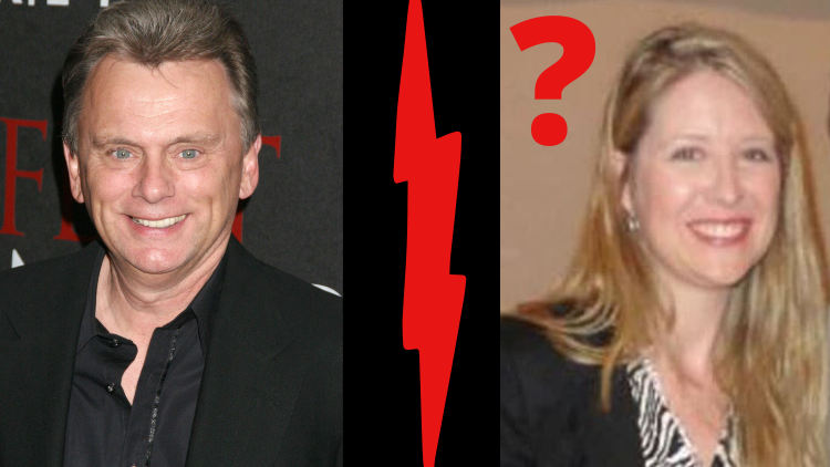 Pat Sajak and Sherrill Sajak (?)