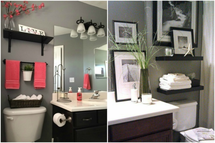 27 Creative Ways To Decorate A Small Bathroom