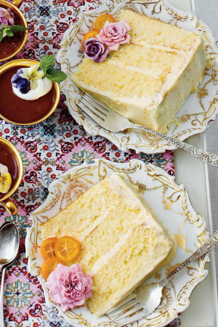 lemon orange chiffon