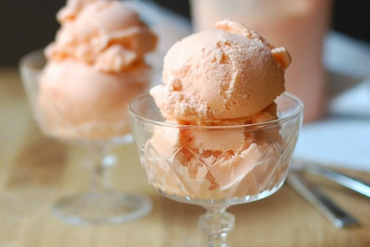 Carrot orange sherbet