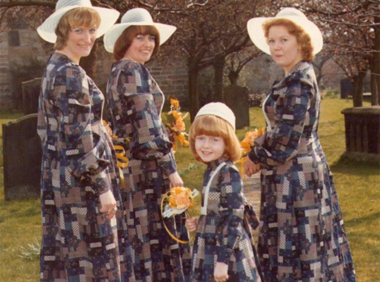 bridesmaid english quilt