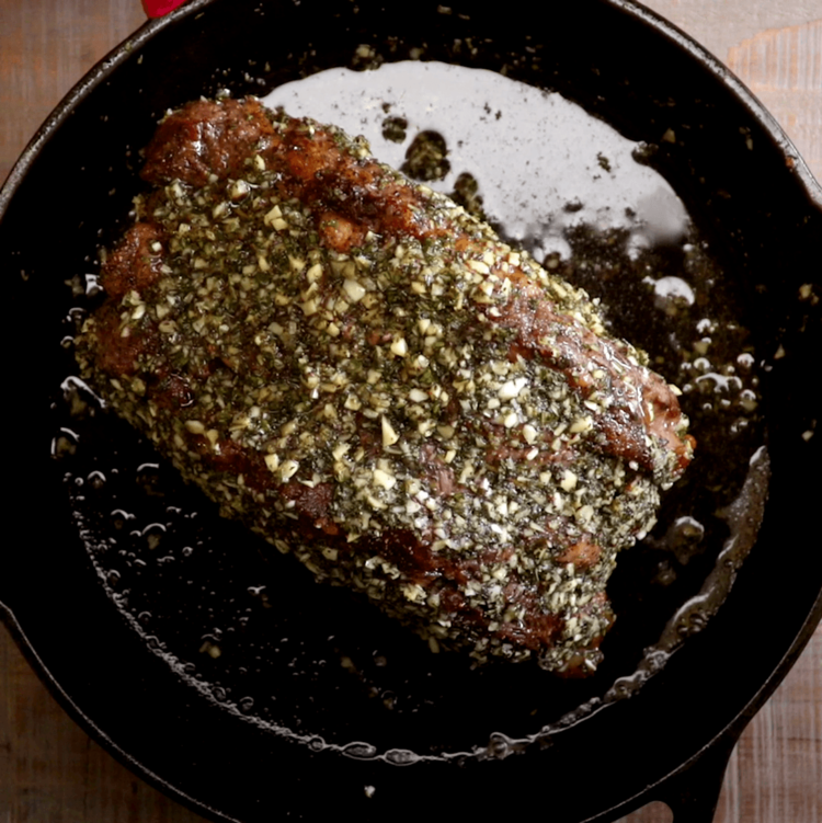 Herb and Garlic Prime Rib Roast rub