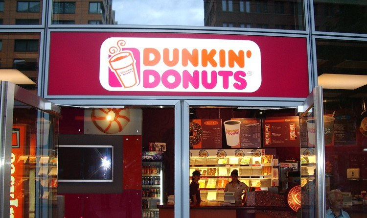 Pic of Dunkin' Donuts shop.