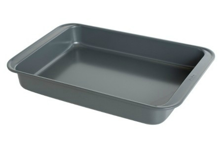 9-x-13-Inch Baking Pan for casseroles and sheet cakes