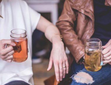 Image of women drinking tea