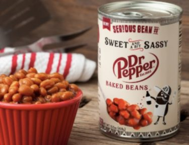 Dr. Pepper-flavored baked beans