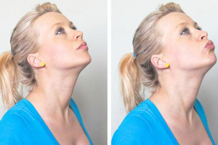 5 Exercises to Eliminate the Dreaded Double Chin