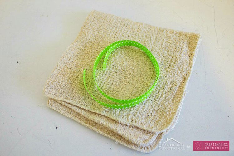 DIY Washcloth Travel Kit Materials