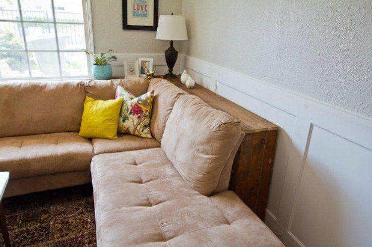 Make a room seem larger by giving furniture space.
