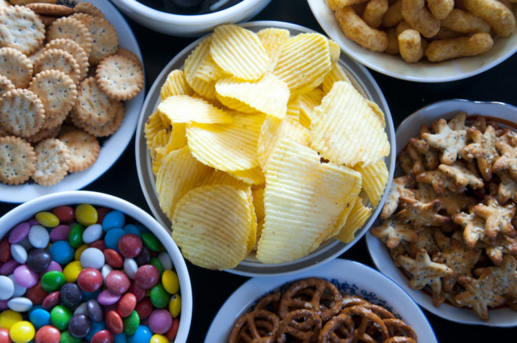 Image of unhealthy snacks