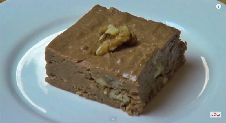 No Bake Chocolate Brownie