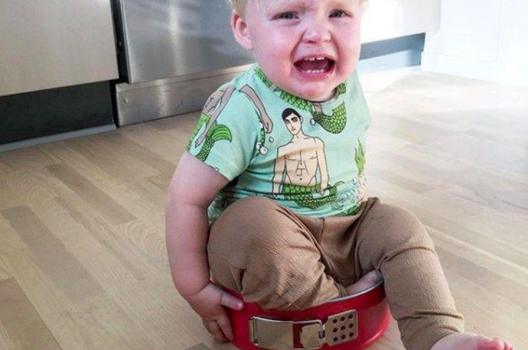 upset kids chair
